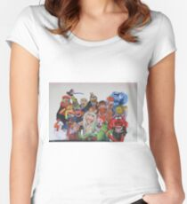 Muppets Women's Fitted Scoop T-Shirt