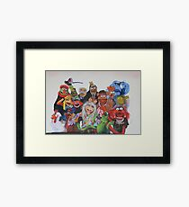 Muppets Framed Print