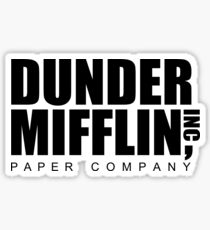 DUNDER Paper Company Sticker