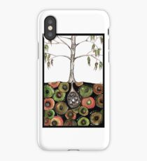 What's in the echidna burrow? iPhone Case/Skin