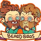 Beard Bros by gomooink