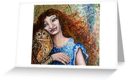 Athena's Owl by Cheryle  Bannon