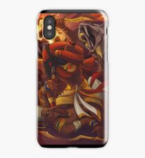 Overthrowing The King iPhone Case/Skin