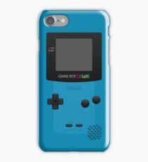 Blue Nintendo Gameboy Color iPhone Case/Skin
