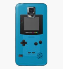 Funda/vinilo para Samsung Galaxy Azul Nintendo Gameboy Color