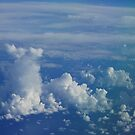 Clouds seen from a plane by briandhay