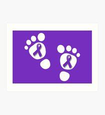 World Prematurity Day - Baby Feet Art Print