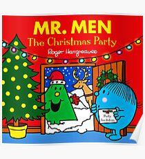 MR. MEN CHRISTMAS 1 Poster