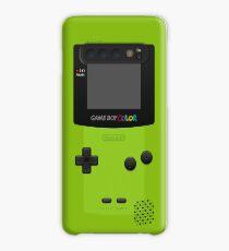 Green Nintendo Gameboy Color Case/Skin for Samsung Galaxy