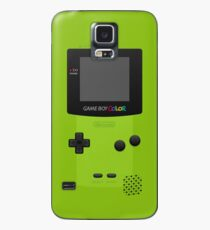 Funda/vinilo para Samsung Galaxy Green Nintendo Gameboy Color