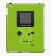 Green Nintendo Gameboy Color iPad Case/Skin