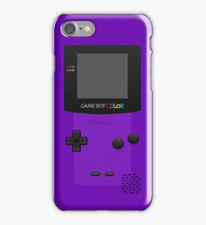 Purple Nintendo Gameboy Color iPhone Case cover