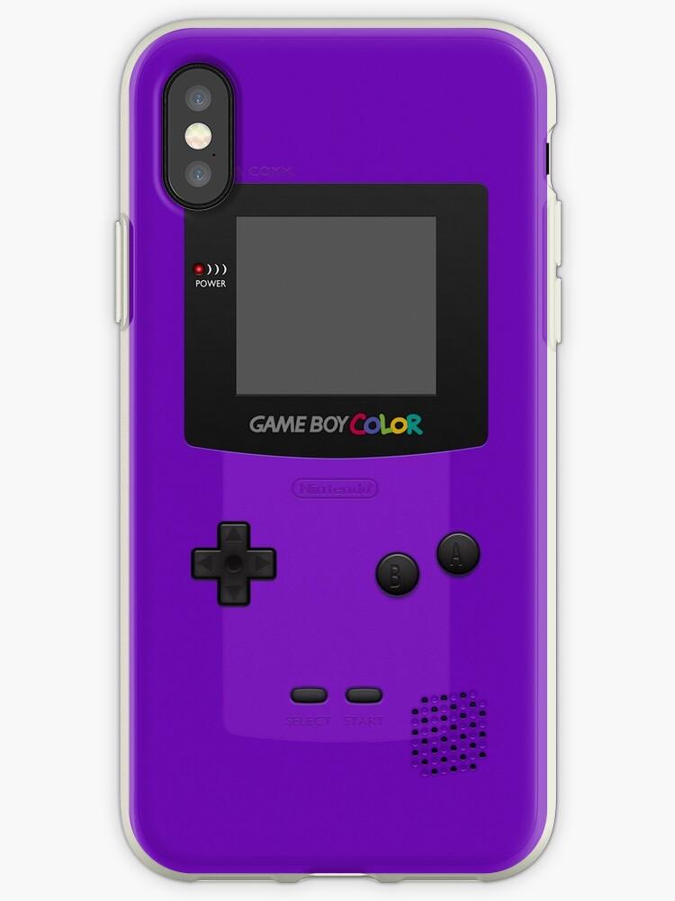 buy online b00b4 f1392 'Purple Nintendo Gameboy Color' iPhone Case by ~ *