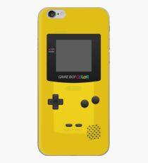 Vinilo o funda para iPhone Color amarillo de Nintendo Gameboy