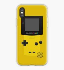 Yellow Nintendo Gameboy Color iPhone Case