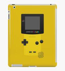 Yellow Nintendo Gameboy Color iPad Case/Skin