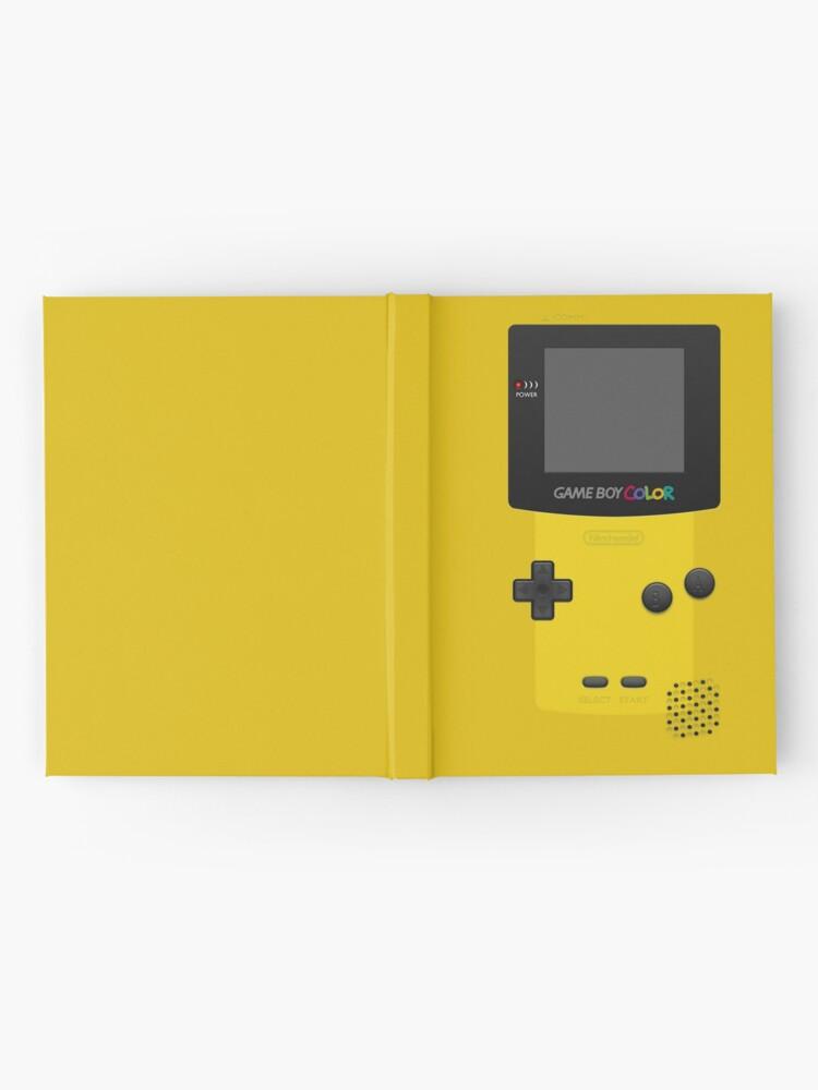 Alternative Ansicht von Gelber Nintendo Gameboy Color Notizbuch
