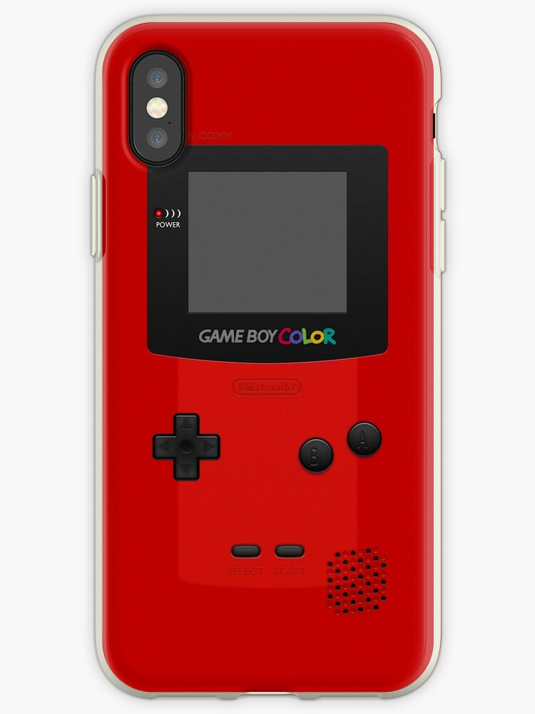 «Red Nintendo Gameboy Color» de ~ *