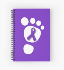 World Prematurity Day - Baby Foot Spiral Notebook