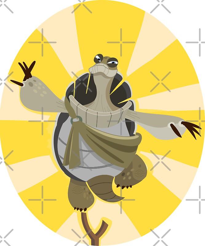 Ma tre oogway kung fu panda stickers par iceyuk - Maitre kung fu panda ...