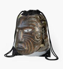 Rotorua Waka Drawstring Bag