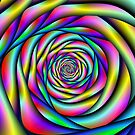 Rainbow Spiral Alternative color by Objowl