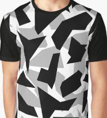 Camo Print Graphic T-Shirt