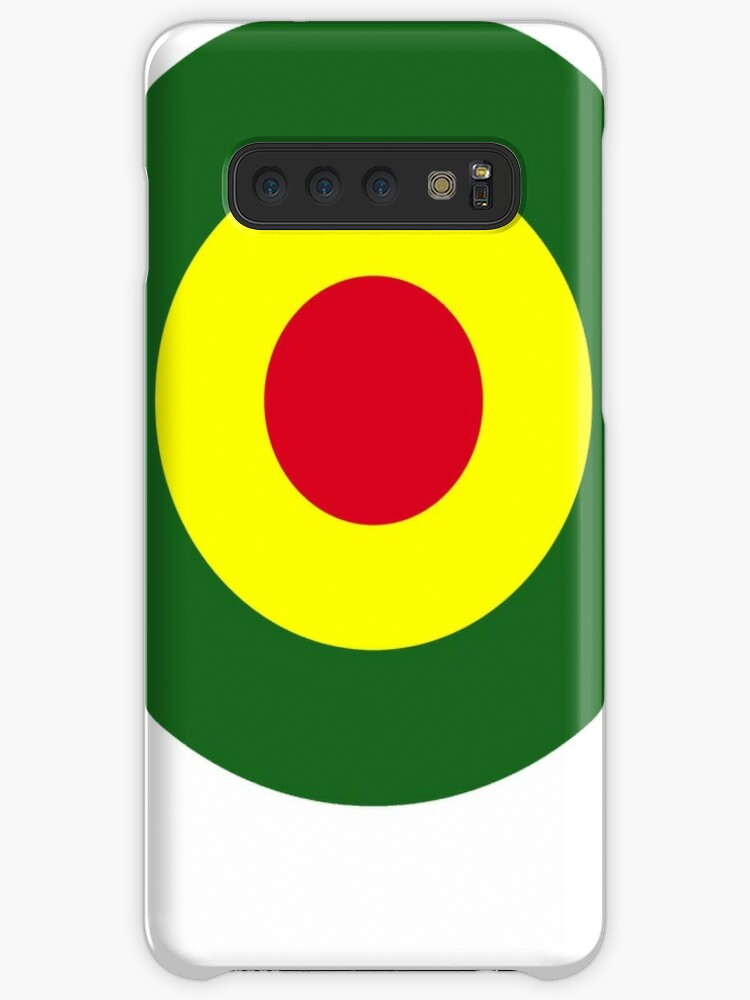 'Rasta Mod Target' Case/Skin for Samsung Galaxy by popculture