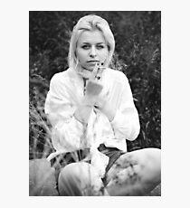 Morning Cigarette Photographic Print