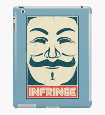 Mr. Anonymity iPad Case/Skin