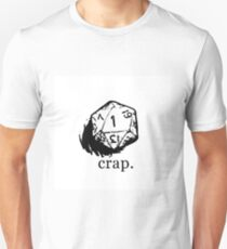 D&D dice 1 Unisex T-Shirt