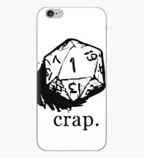 D&D dice 1 iPhone Case