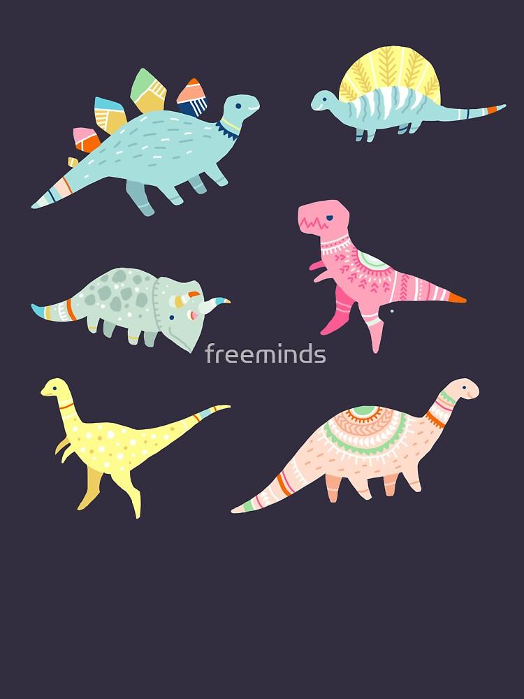 Dinosaurier-Muster von freeminds