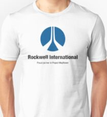 Rockwell International (Aged look) Unisex T-Shirt