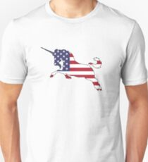 American Flag – Unicorn T-Shirt