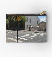 Pedestrian Crossing II Studio Pouch