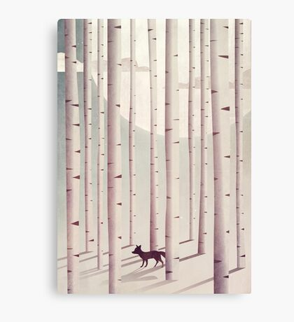 Serene Forest Canvas Print