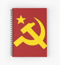 Hammer And Sickle Spiral Notebooks   Redbubble