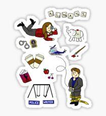 Caskett Starter Set Sticker
