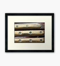 Bars of Gold Framed Print