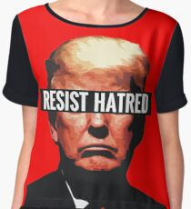 Resist Hatred Women's Chiffon Top