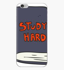 cartoon study book iPhone Case