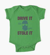 DRIVE IT like you STOLE IT (4) One Piece - Short Sleeve