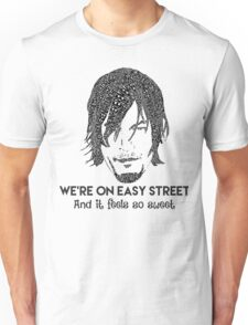 TWD - Daryl: We're On Easy Street Unisex T-Shirt