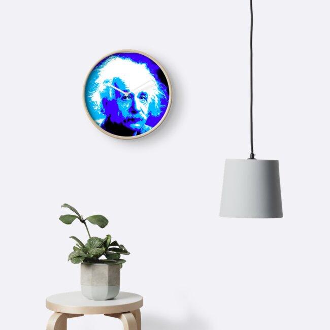 «Einstein de azul» de bongofury