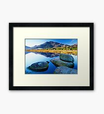Tidal River Reflection Framed Print