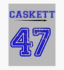 Caskett 47 Jersey Photographic Print