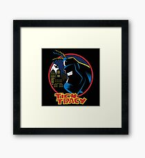 Tick Tracy Framed Print