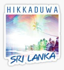 Sri Lanka - Hikkaduwa Sticker