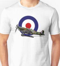 British Spitfire Fighter Plane T-Shirt